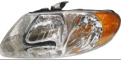 01 02 03 04 05 06 07 PLYMOUTH VOYAGER DODGE CARAVAN CHRYSLER TOWN & COUNTRY LAMP HEADLIGHT LH 4857701AC *