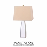 Pylon Crystal Table Lamp | Short