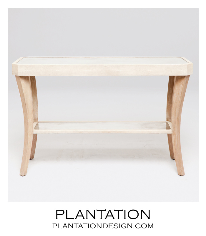 High Quality Camille Console Tables | Ivory