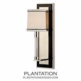 Carlyle Wall Sconce | Polished Nickel