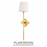 Cortney Wall Sconce | Antiqued Brass