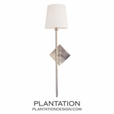 Cortney Wall Sconce | Antiqued Nickel