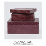 Serpentine Boxes Set | Purple