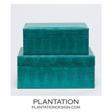 Garland Snakeskin Boxes Set