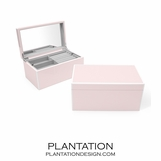 Lacquer Jewelry Box | Pale Pink