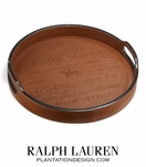 Cantwell Leather Bar Tray