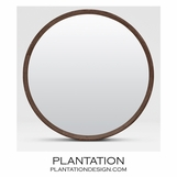 "Knightley ""Shagreen"" Mirror 
