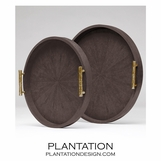 "Lorraine ""Shagreen"" Trays 