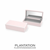 Lacquer Trinket Box | Pale Pink