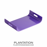 Nina Lacquered Tray | Purple