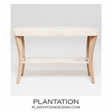 Camille Console Tables | Ivory