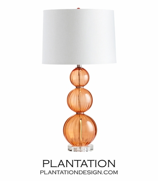 Cavaliere Glass Table Lamp