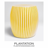 Carnivale Resin Stool | Yellow
