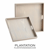 Kenneth Wood Trays Set | Grey Wash