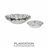 Crinkle Stainless Steel Bowls Set