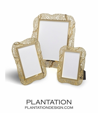 Fern Metal Frames | 24K Gold