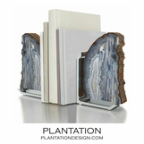 Carlsbad Agate Bookends