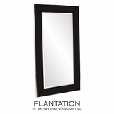Galway Floor Mirror | Black