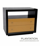 Mercer 2-Drawer Side Table