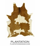 Cowhide Rug | Brown & White Select