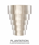 Kaya Sconce | Polished Nickel