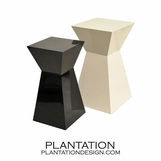 Lacquered Pedestals