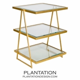 Ramon Side Table | Gold