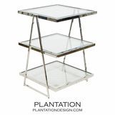 Ramon Side Table | Nickel