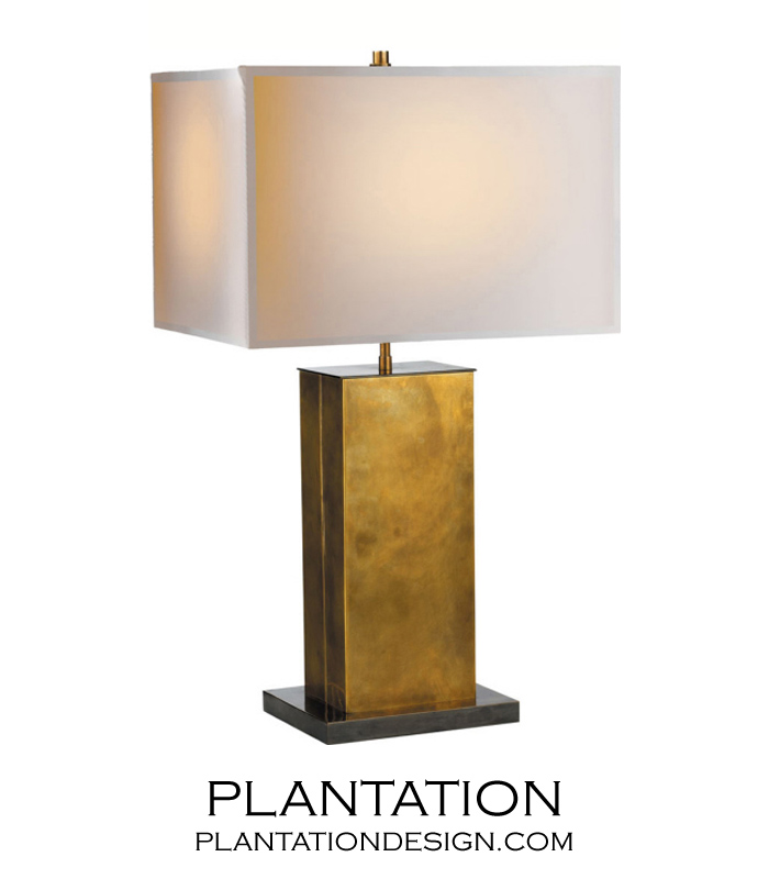 Braden Antique Brass Lamp | No. 2