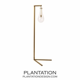 Edison Floor Lamp | Brass