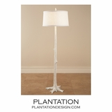 Redwood Floor Lamp | White