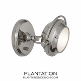 Dakota Wall Sconce | Polished Nickel