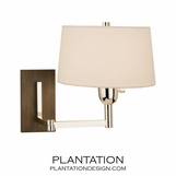 Fortune Swing Arm Wall Sconce