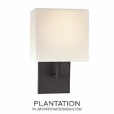 Kalan Single Sconce | Bronze