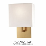 Kalan Single Sconce | Satin Gold