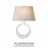 O Sconce | Polished Nickel