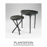 Taiga Iron Side Tables