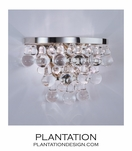 Flair Sconce | Polished Nickel