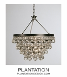 Flair Chandelier | Dark Bronze