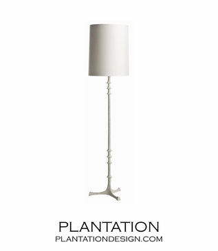 Dane Floor Lamp | White