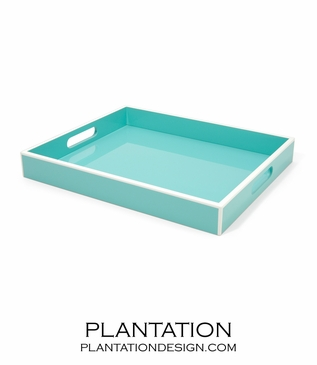 Lacquer Tray | Turquoise