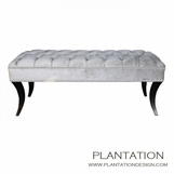 Nikita Bench, Diamond-Tufted