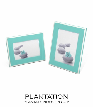 Lacquer 4x6 Frame | Turquoise
