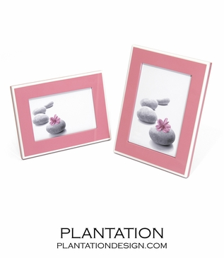 Lacquer 5x7 Frame | Pink