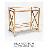 Bateman Bar Cart | Gold