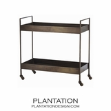 Bordeaux Bar Cart