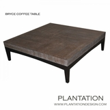 Bryce Coffee Table, Cerused