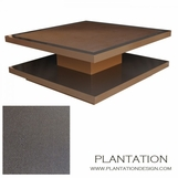 Cantilever Coffee Table   Inlay