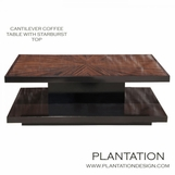 Cantilever Coffee Table | Macassar Rectangle No. 2