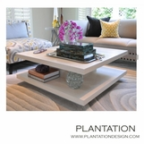 Cantilever Coffee Table | Rift Oak
